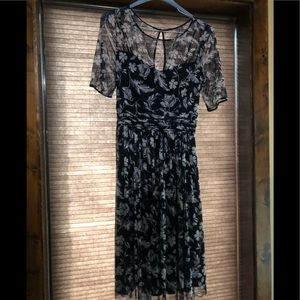 Jessica Howard Navy/White Floral Dress